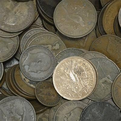 1kg Mixed Bag World Copper Coins