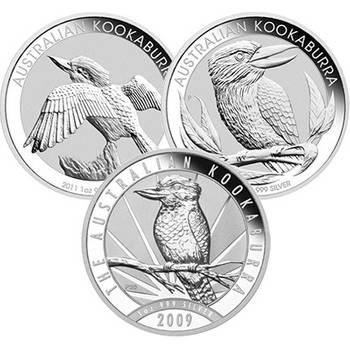 1oz Australian Kookaburra Silver Bullion Coin - Dates of our choice (mint condition)