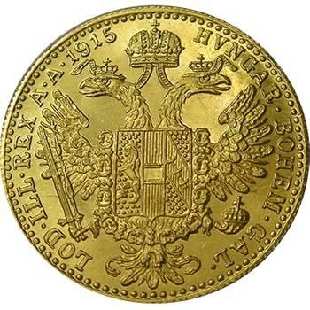 1915 Austria One Ducat Gold Bullion Coin