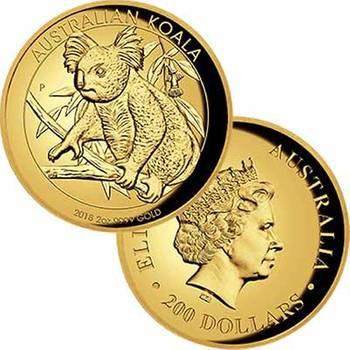 2oz 2018 Australian Koala High Relief Gold Proof Coin
