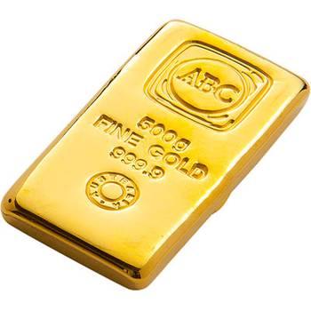 500 g ABC Gold Bullion Cast Bar