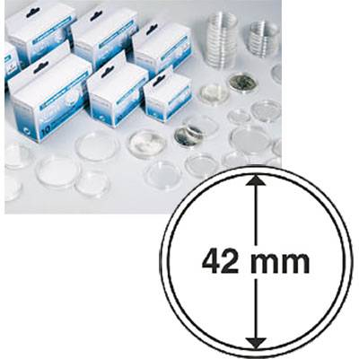 42mm Coin Capsules - Box of 10