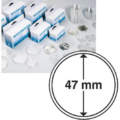47mm Coin Capsules - Box of 10