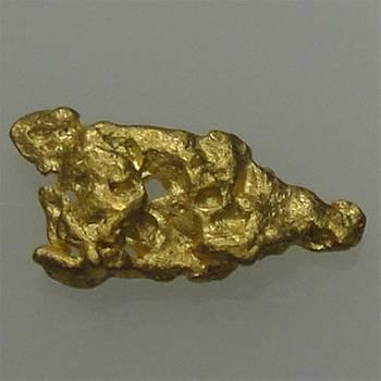 Natural Gold Nugget - 0.3g
