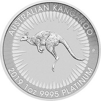 1oz 2019 Australian Kangaroo Platinum Bullion Coin (Brand New Coins)