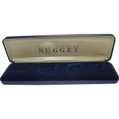 Perth Mint Australian Nugget Four Gold Coin Display Box