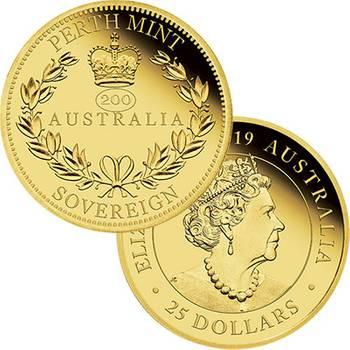 2019 Australian Sovereign Gold Proof Coin
