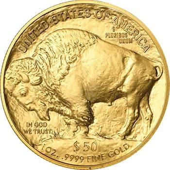 1 oz USA Gold Buffalo Bullion Coin - Mixed Dates