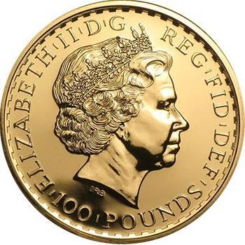 1 oz UK Britannia Gold Bullion Coin - Mixed Dates