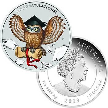 1 oz 2019 Australia Graduation Silver Proof Coin