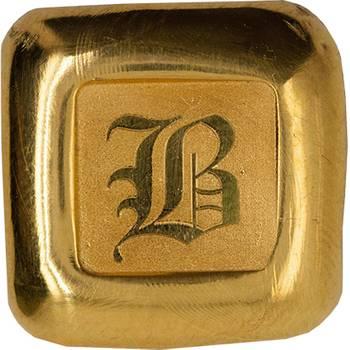 1 oz Baird & Co Gold Bullion Cast Bar