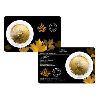 1oz 2019 Canada Call Of The Wild Moose Gold Bullion Coin (Brand New Coins)