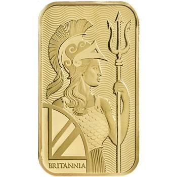1oz Royal Mint Lady Britannia Minted  Gold Bullion Bar (Brand New Bars)
