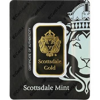 1oz Scottsdale Minted Gold Bullion Bar -mixed designs of KJC choice