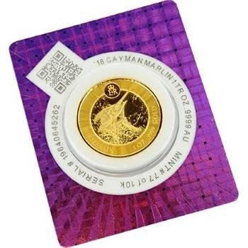 1 oz 2018 Cayman Islands Marlin Gold Bullion Coin