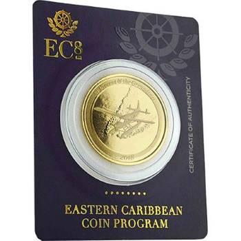 1oz 2018 St. Vincent & the Grenadines Seaplane Gold Bullion Coin (Brand New Coins)