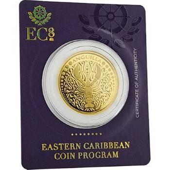 1oz 2018 Anguilla Lobster Gold Bullion Coin (Brand New Coins)
