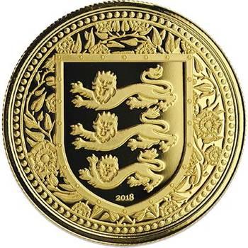 1oz 2018 Gibraltar Royal Arms Of England Gold Bullion Coin