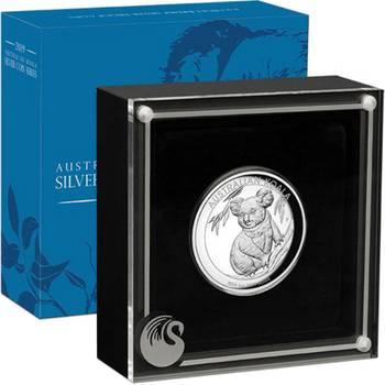 1 oz 2019 Australian Koala High Relief Silver Proof Coin