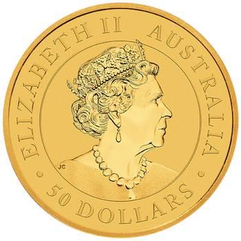 1/2 oz 2020 Australian Kangaroo Gold Bullion Coin