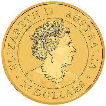 1/4 oz 2020 Australian Kangaroo Gold Bullion Coin