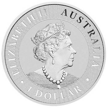 1 oz 2020 Australian Kangaroo Silver Bullion Coin