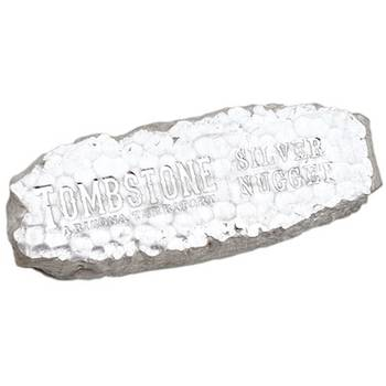 10oz  Scottsdale Silver Tombstone  Nugget Bar