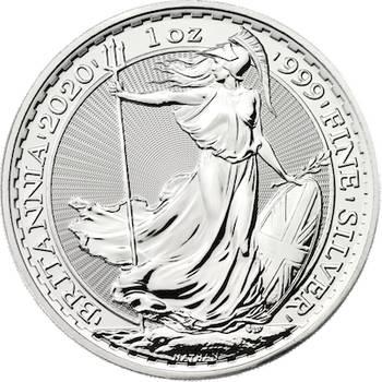 1 oz 2020 Great Britain Britannia Silver Bullion Coin