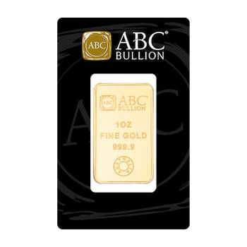 1oz ABC Minted Gold Bullion Bar (Brand New Bars)