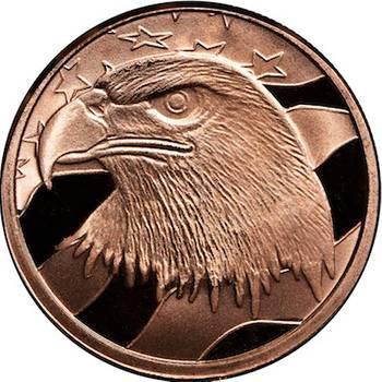 1oz AVDP American Eagle Copper Round Master Box