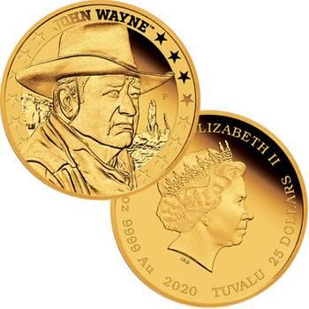 1/4oz 2020 John Wayne Gold Proof Coin