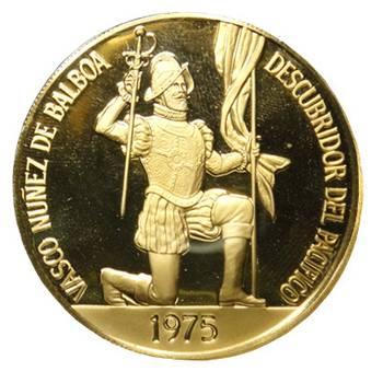 1975 Republic of Panama 500 Balboa Gold Coin