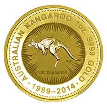 1oz 2014 Australian Kangaroo Gold Coin