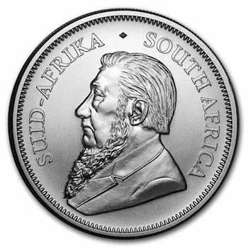 1 oz 2020 South African Krugerrand Silver Bullion Coin