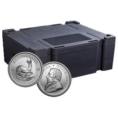 1 oz 2020 South African Krugerrand Silver Bullion Coin - 500 oz Monster Box