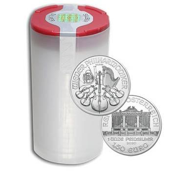 1 oz 2020 Philharmonic Silver Bullion Coin - 20 oz Tube