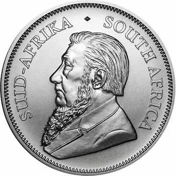 1oz South African Krugerrand Silver Bullion Coin - Dates of KJC's Choice