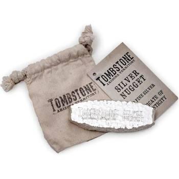 5 oz Scottsdale Tombstone Silver Bullion Nugget Bar