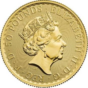 1/2 oz 2020 Great Britain Britannia Gold Bullion Coin
