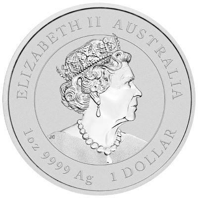 1 oz 2021 Australian Lunar Year of the Ox Silver Bullion Coin