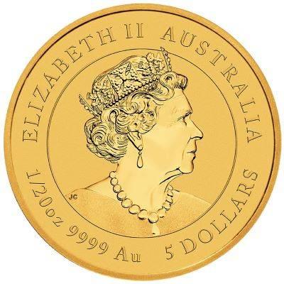 1/20 oz 2021 Australian Lunar Year of the Ox Gold Bullion Coin