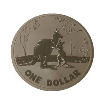 2007 Royal Australian Mint One Dollar Kangaroo