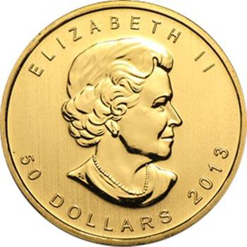1oz Canadian Maple Leaf Gold Bullion Coin (Mint Condition) - Dates of our Choice