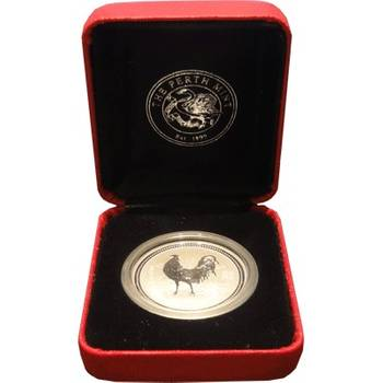 1/2 oz 2005 Australian Lunar Year of the Rooster Silver Bullion Coin