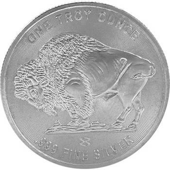 1oz Buffalo Silver Bullion Rounds -on special