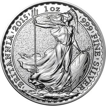 1 oz Great Britain Britannia Silver Bullion Coin