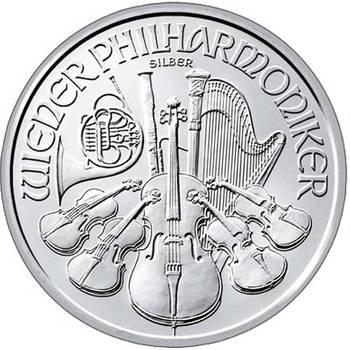 1oz Austrian Philharmonic Silver Bullion Coin - Dates of KJC's Choice