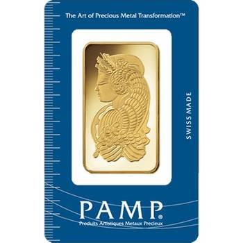 100gram PAMP Suisse Minted Gold Bullion Bar (Brand New Bars)