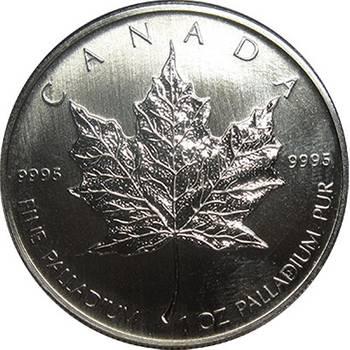 1 oz Canadian Maple Leaf Palladium Bullion Coin