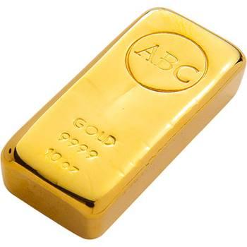 10 oz ABC Gold Bullion Cast Bar